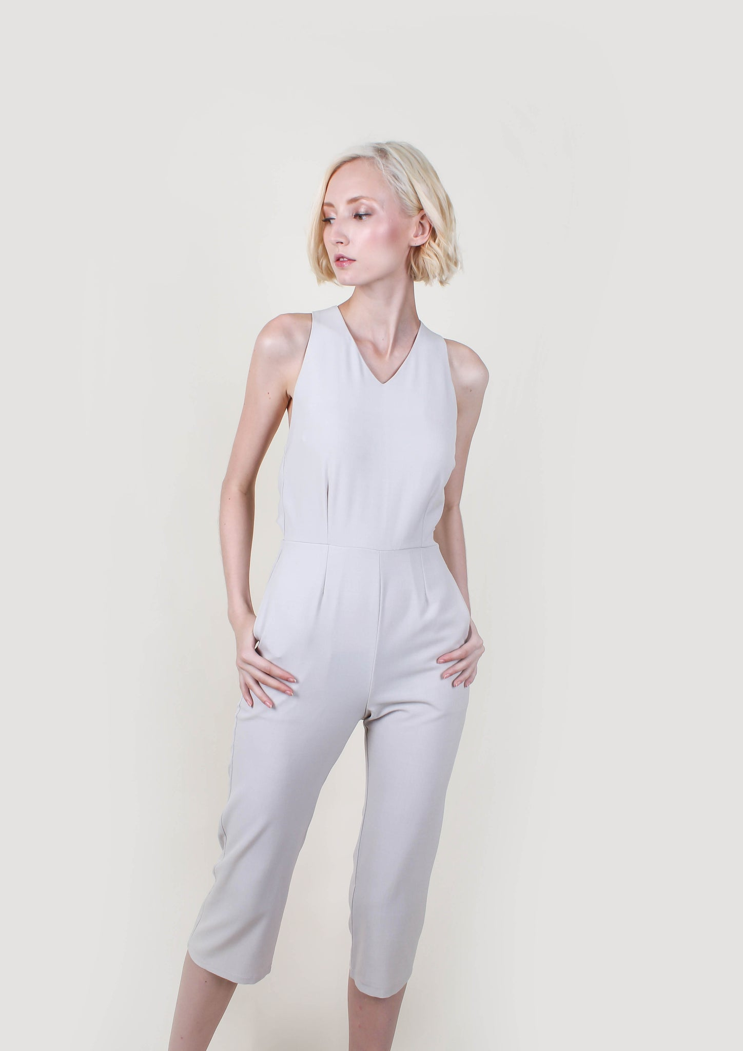 Versatile Jumpsuit (Buff Cream)