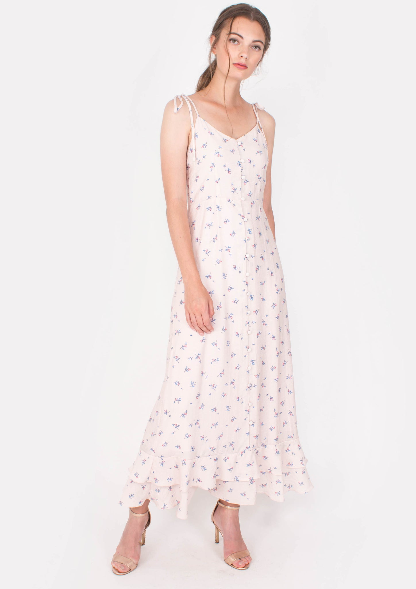 Aspire Maxi Dress (Pink) - Moxie