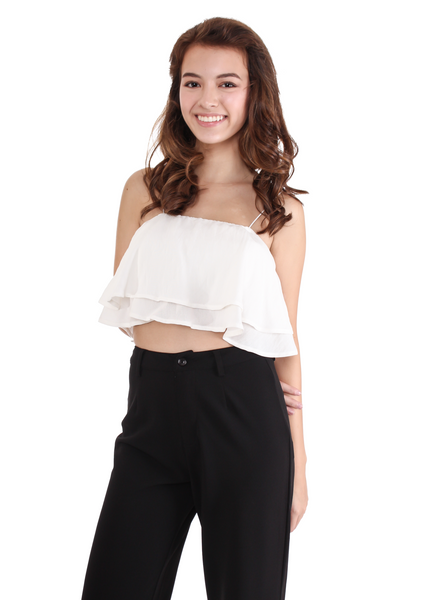 Lost Paradise Crop (White)
