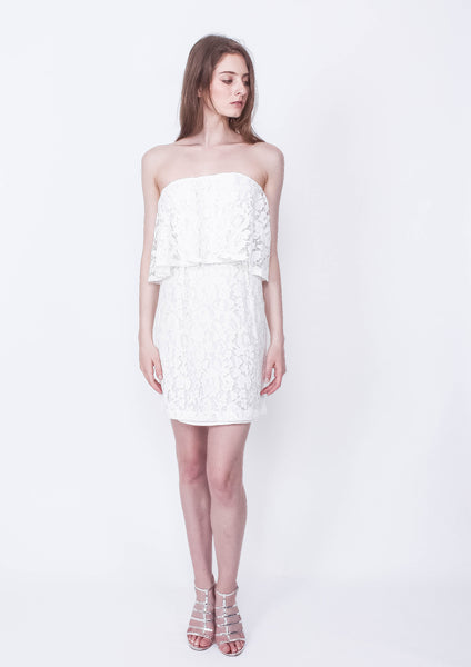 Kindness Lace Strapless Dress