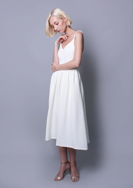 Distraction Dress (White)