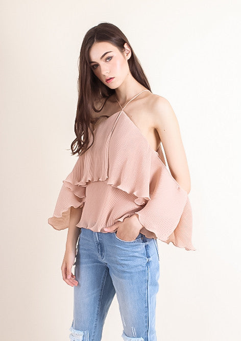 Sicily Top (Dusty Peach)