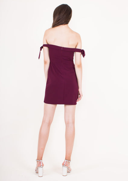 Savannah Dress (Mahogany) - Moxie