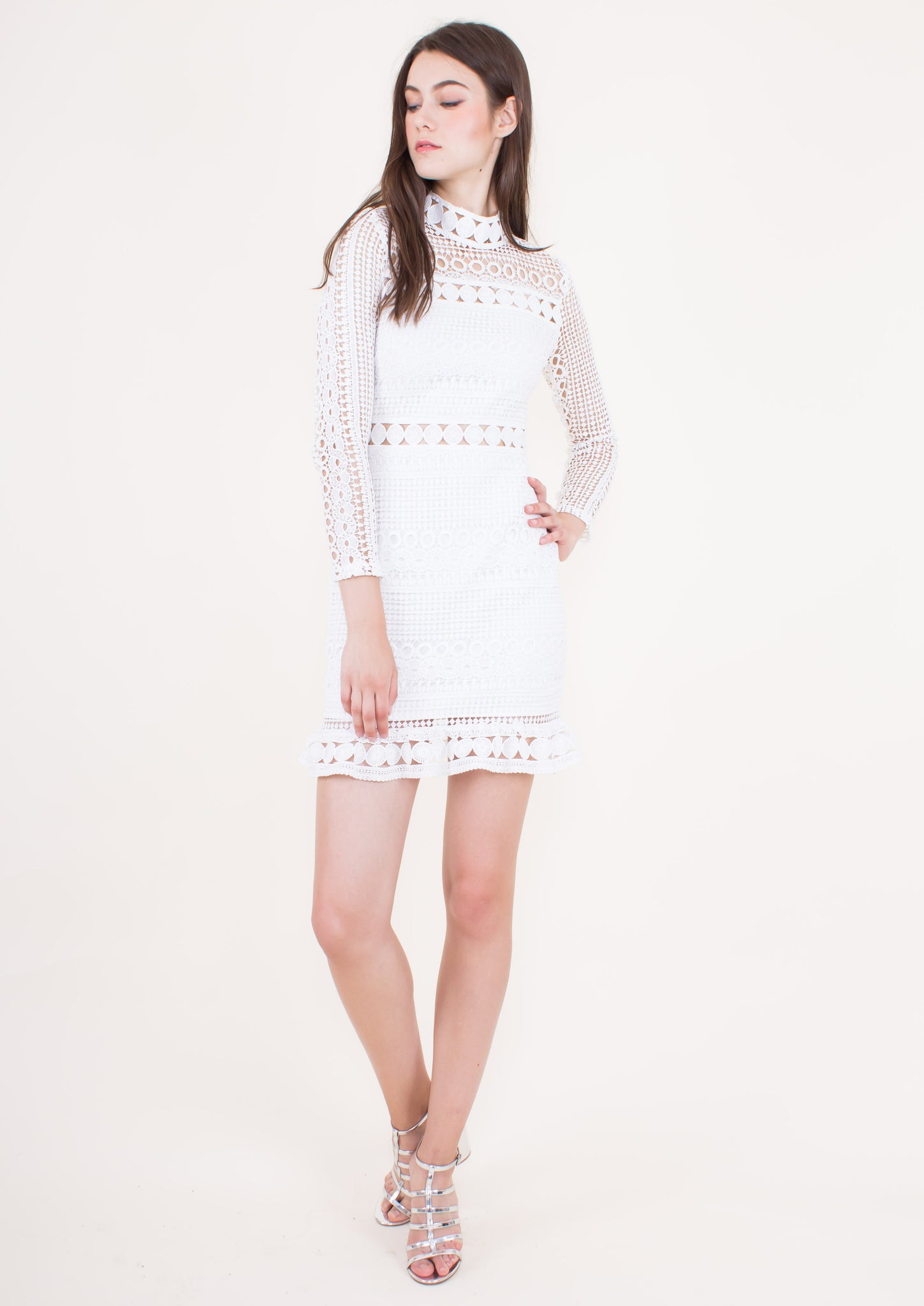 Riverdale Dress (White)