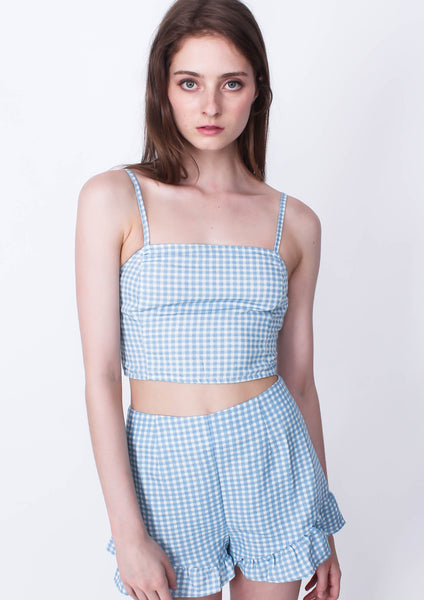 Toto Gingham Top