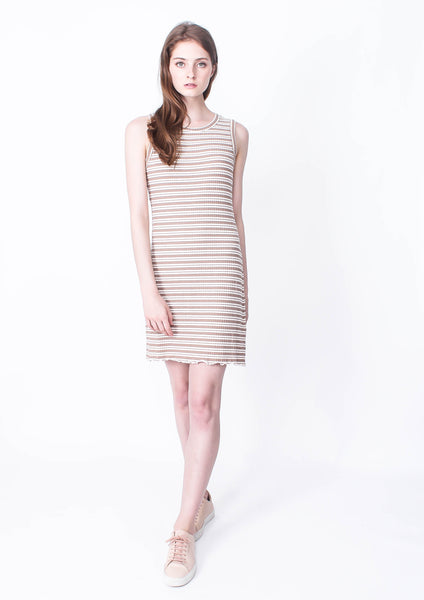 Fingal Lettuce Hem Dress - Moxie