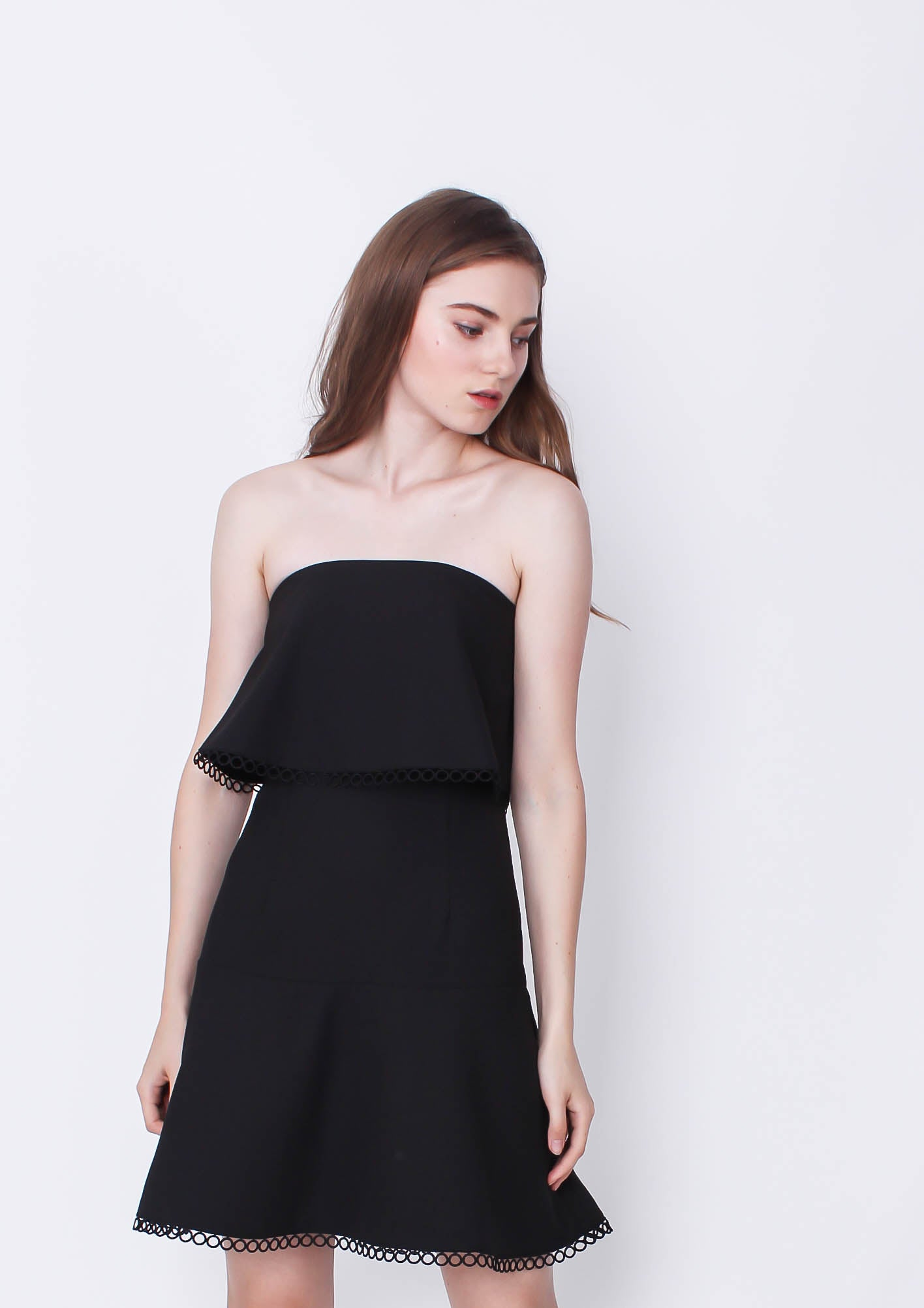 Before You Go Dress (Black) - Moxie
