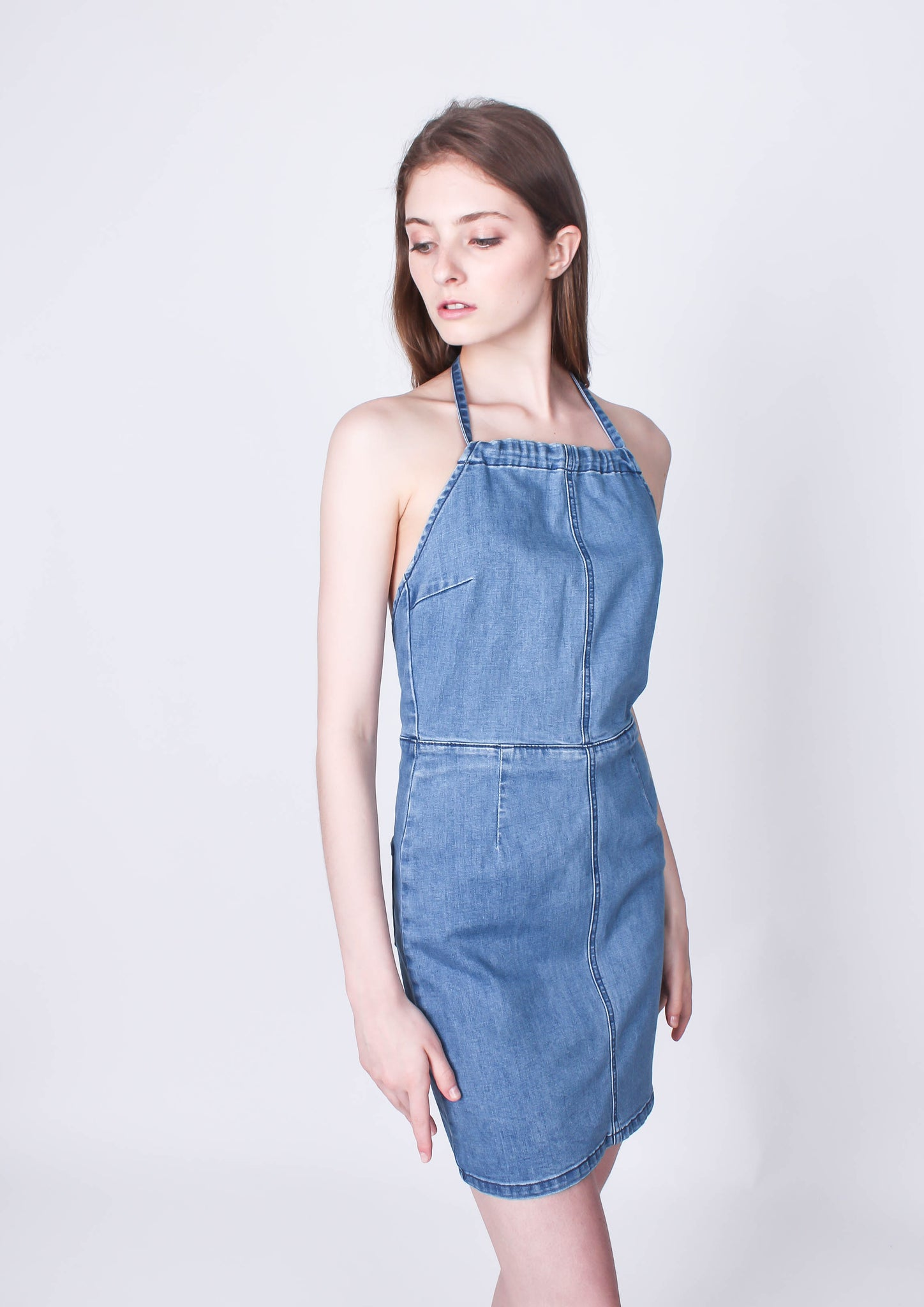 Jackson Denim Mini Dress