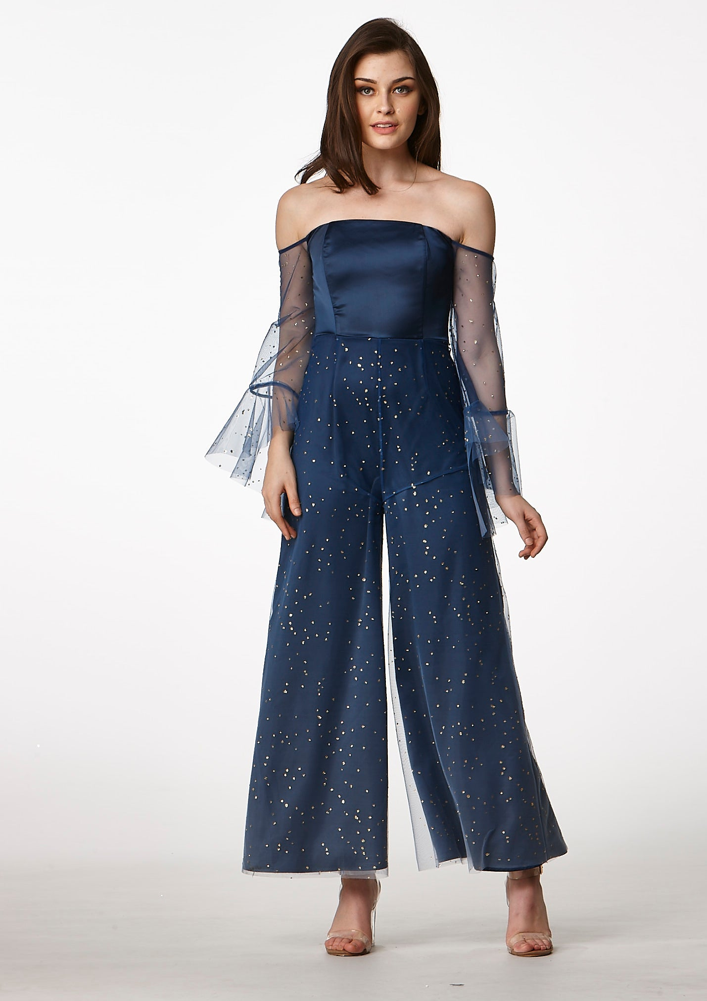 MOS Ombre Jumpsuit (Navy) - Moxie