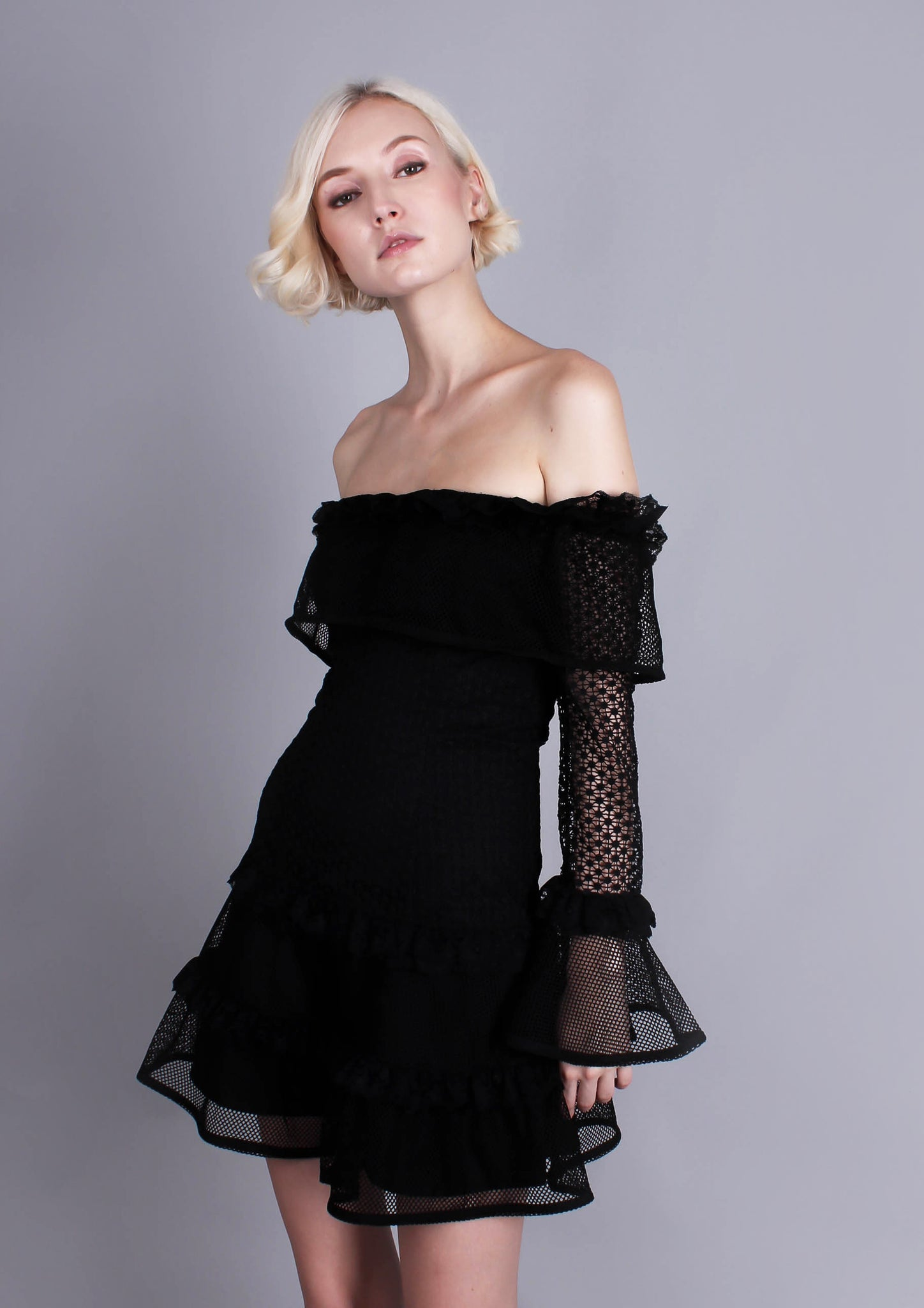 The Mood Swing Dress (Black)