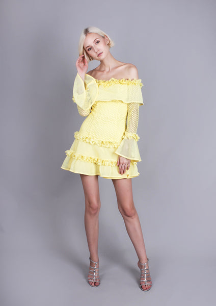 The Mood Swing Dress (Yellow)