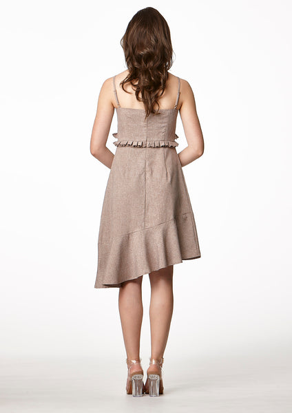 Now Doll Dress (Brown)