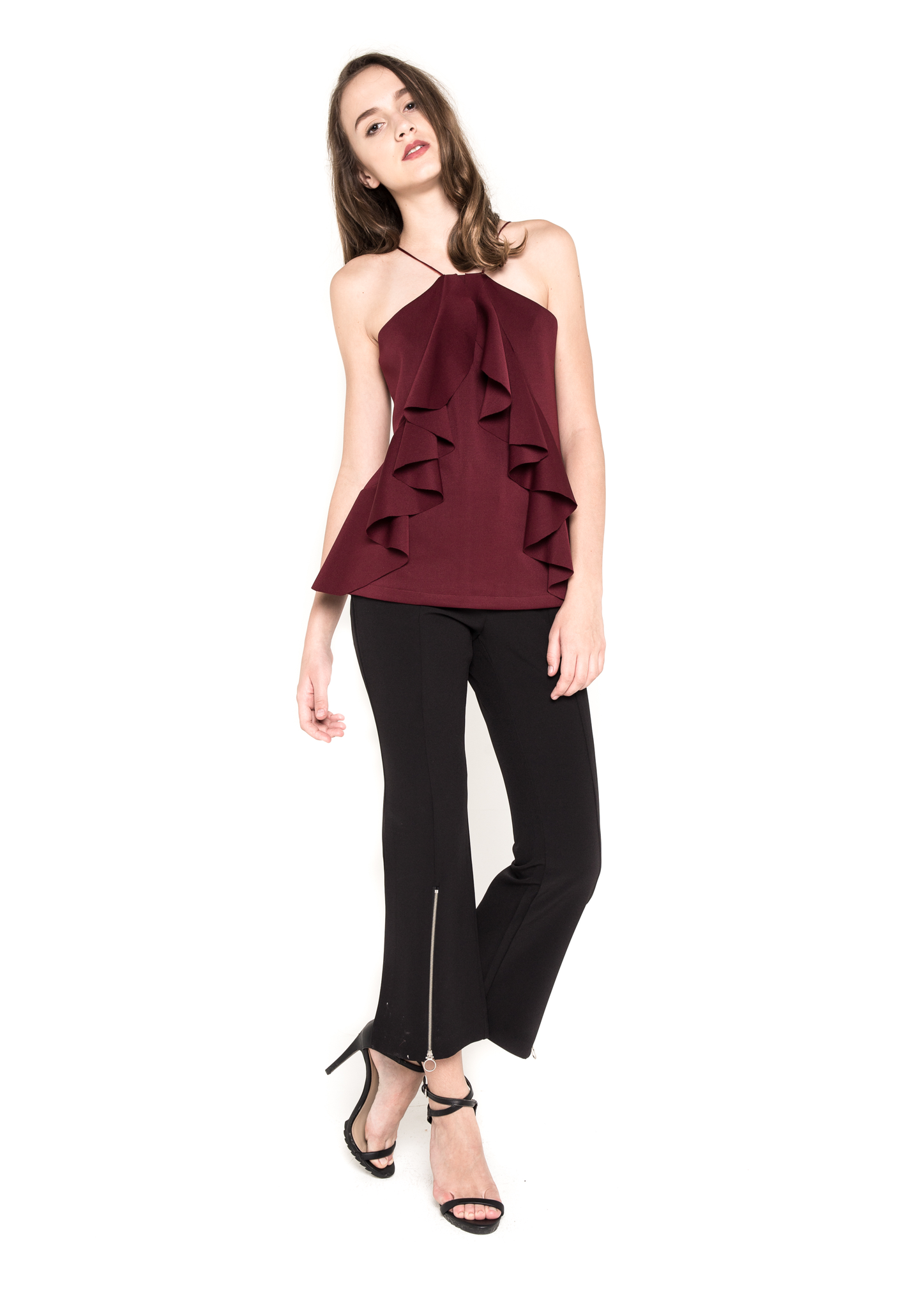 Sirius Top (Burgundy)