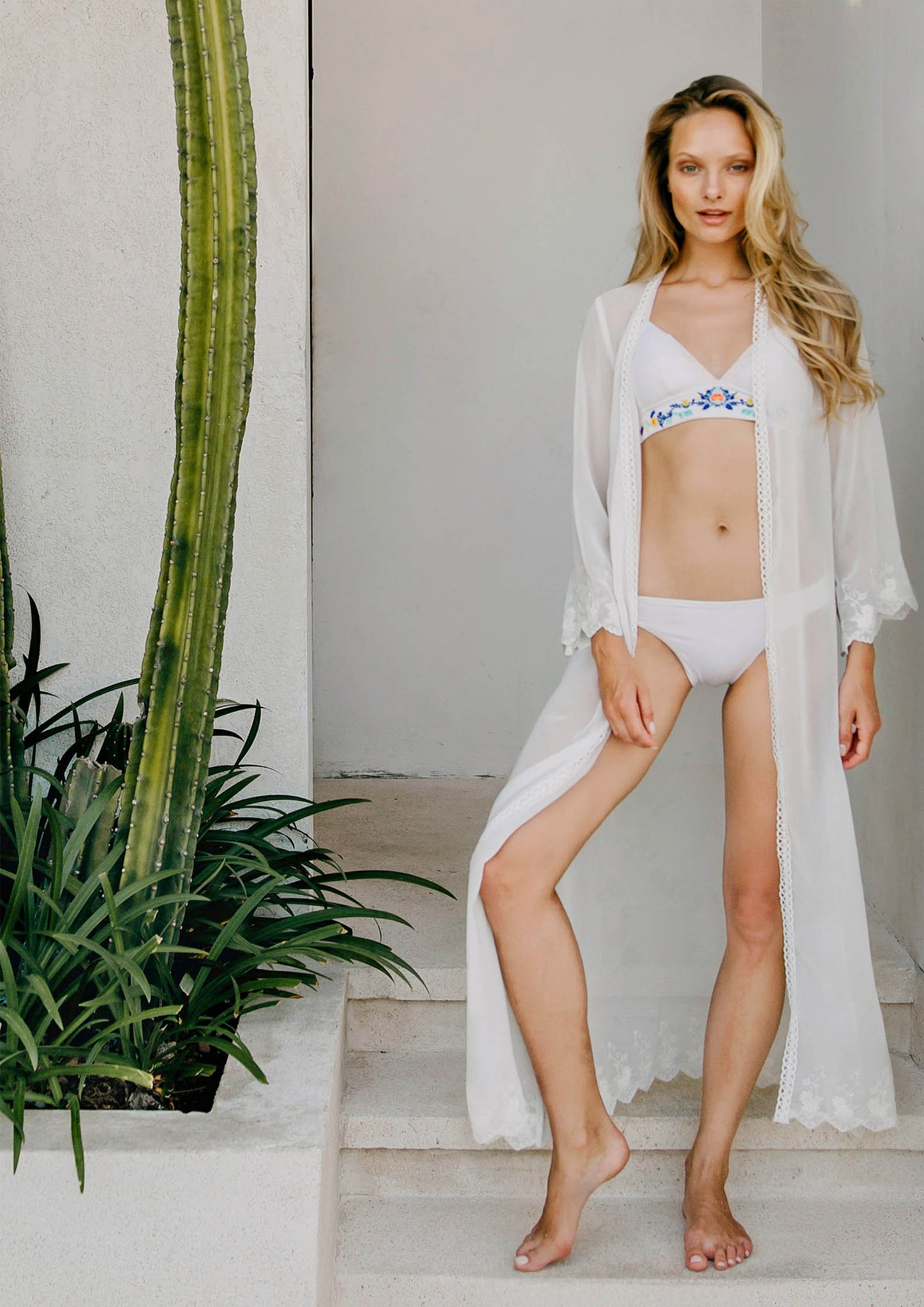 Bliss Cover-up (White) - Moxie