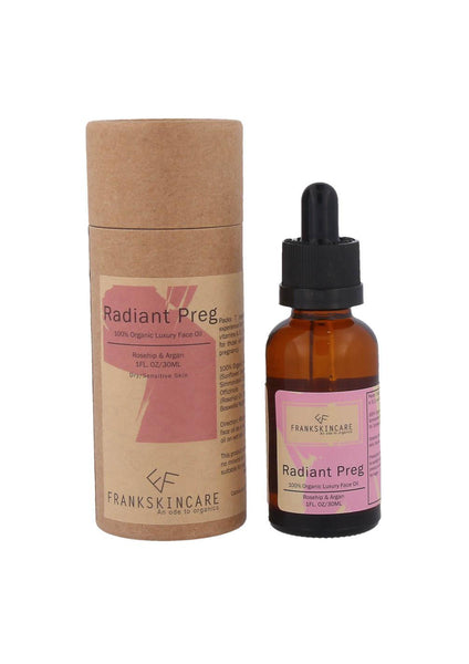 Radiant Preg Luxury Face Oil (30ml) - Moxie