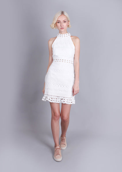 Rivers Dress (White)