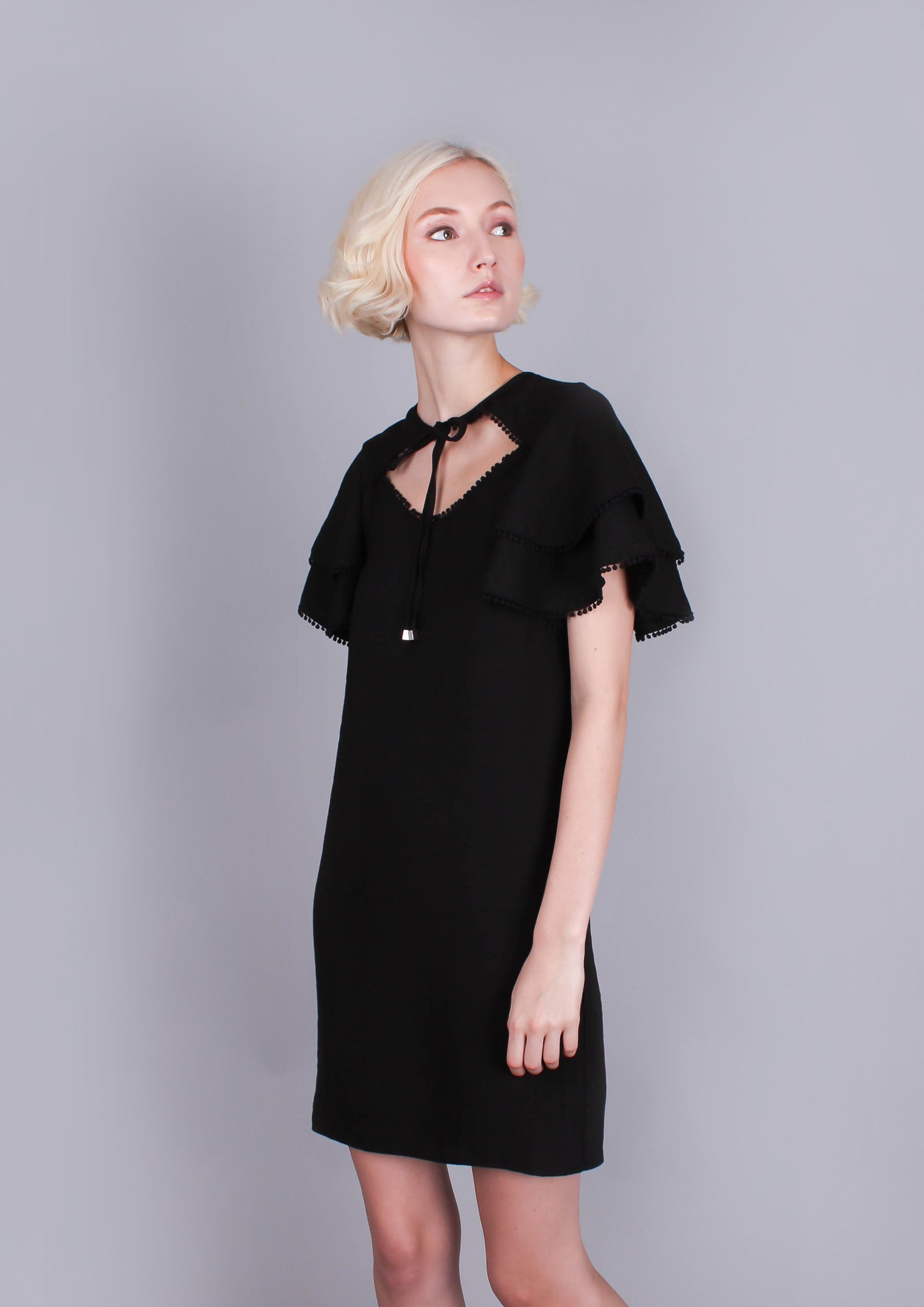 Salt Dress (Black) - Moxie