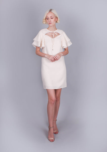 Salt Dress (Beige) - Moxie