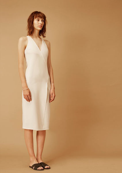 Undine Sleek Dress (White)