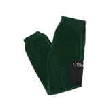 HEAVY FLEECE TRACK PANT TARTAN GREEN