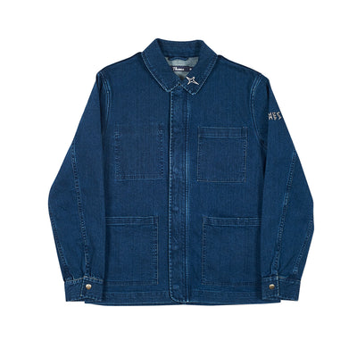 ENGLAND WORK JACKET BLUE