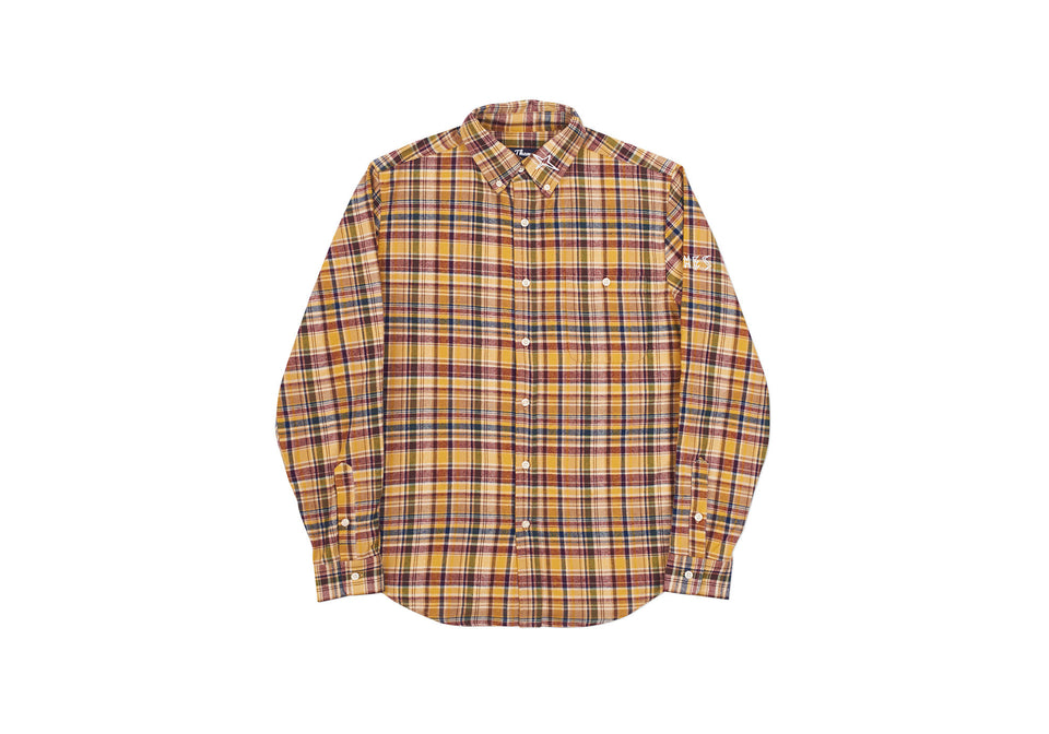 ESPY OVERSHIRT RED / WHITE FLANNEL