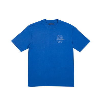 PLAQUE T-SHIRT BLUE