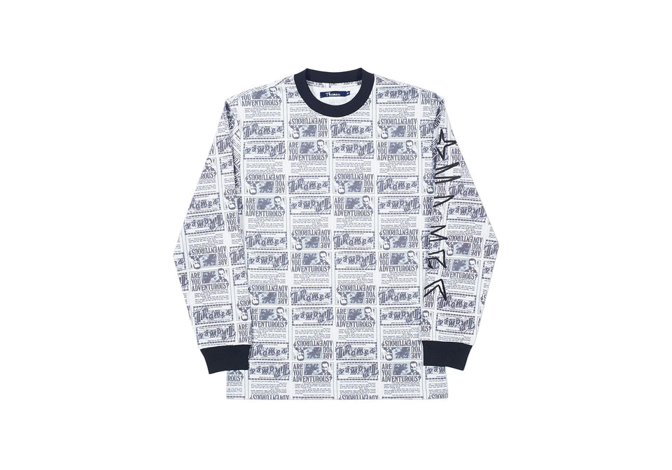 ADVENTUROUS ESPY LONGSLEEVE ALL OVER PRINT