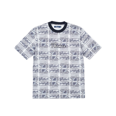 ADVENTUROUS LOGO T-SHIRT ALL OVER PRINT