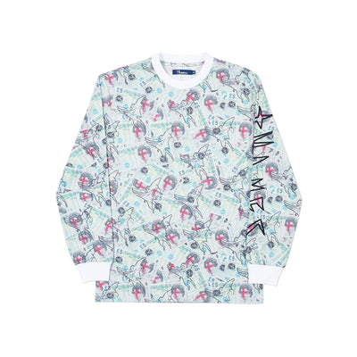 SKYDIVER ESPY LONGSLEEVE ALL OVER PRINT