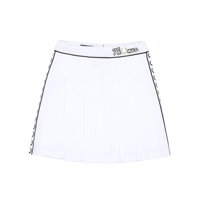 THAMES TENNIS SKIRT SNOW WHITE