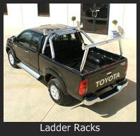 Aluminium Ladder Racks and Sports Bars
