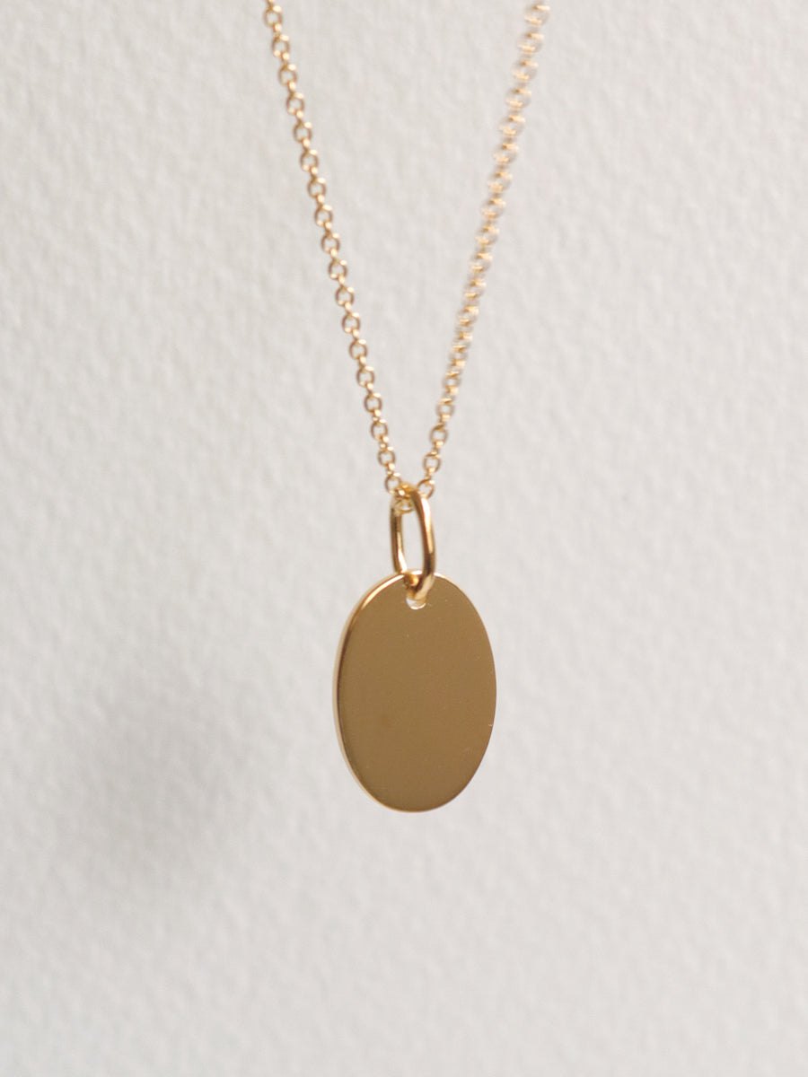 Mirror Necklace (Gold)
