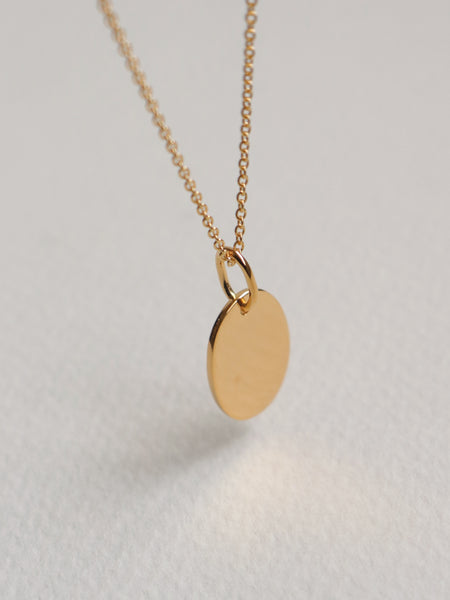 Mirror Pendant - Gold
