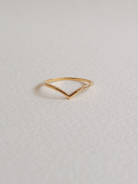 Arc Ring in Gold-Plated