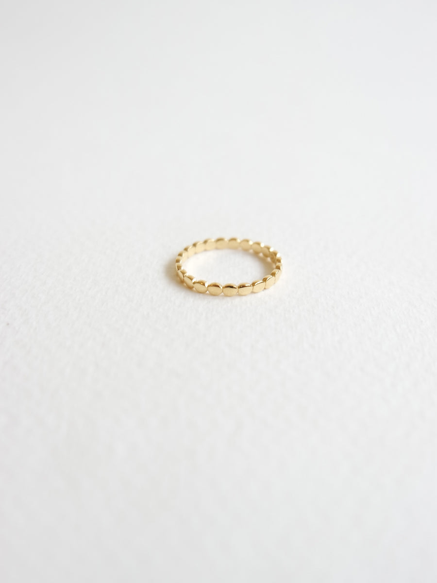 Dotted Ring in Gold