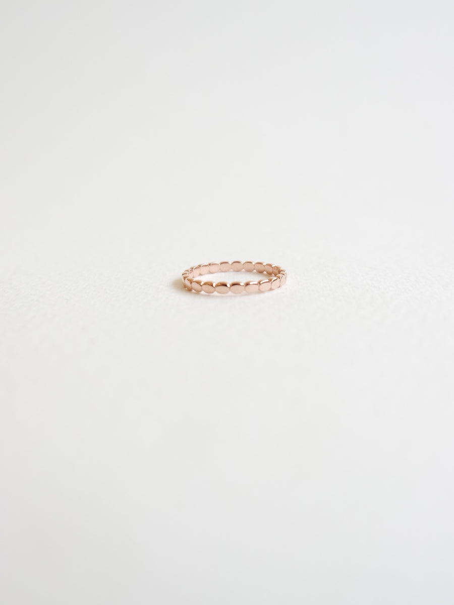 Dotted Ring (Rose Gold)