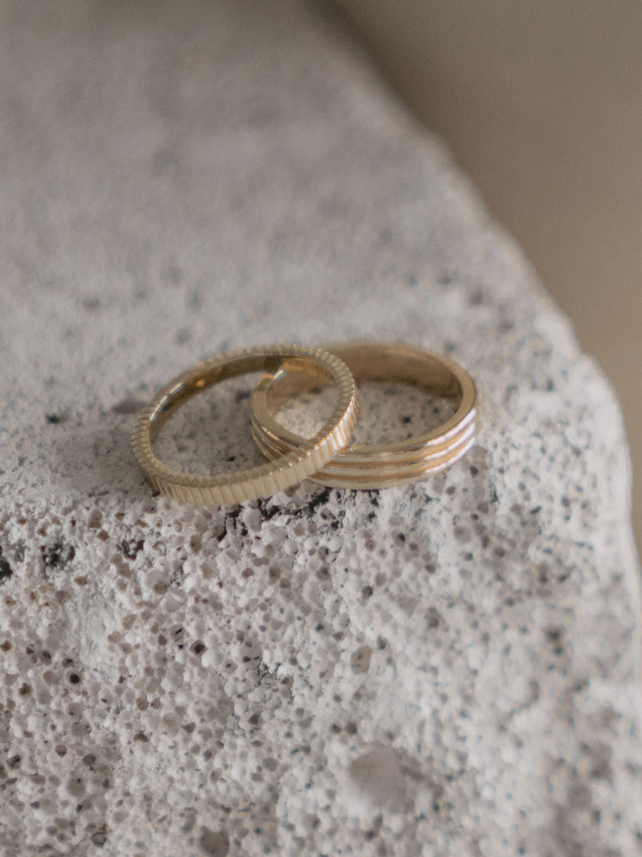Line Ring (Gold)