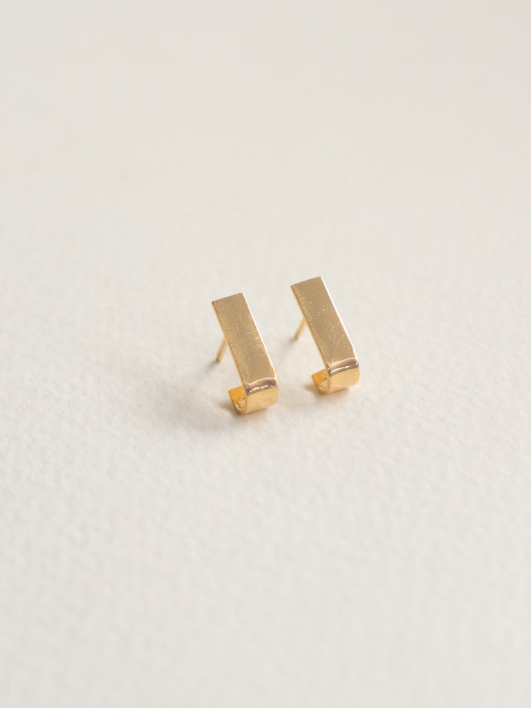 Pave Earstuds - Gold