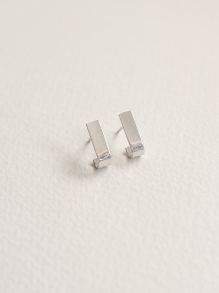 Pave Earstuds - Silver
