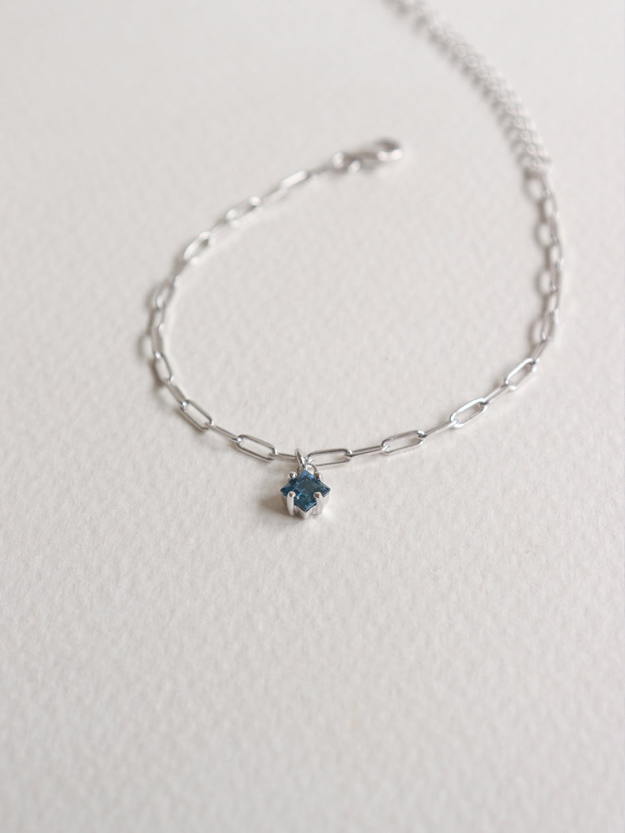 Kimberly Bracelet - London Blue Topaz (Silver)