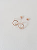 Bri Earstuds - Opal in Rose Gold / Silver