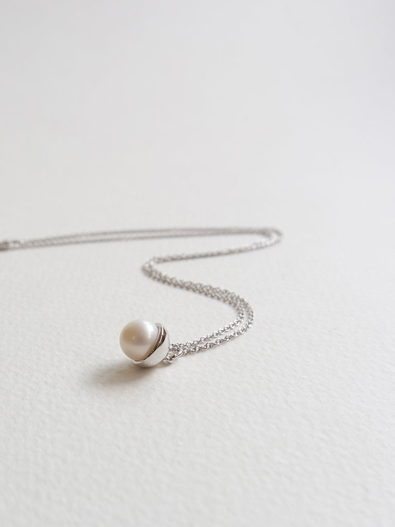 Diane - Freshwater Pearl in Silver
