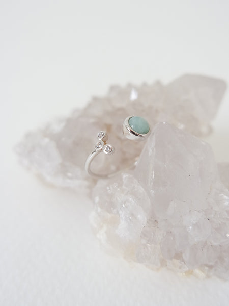 Alix - Amazonite in Silver