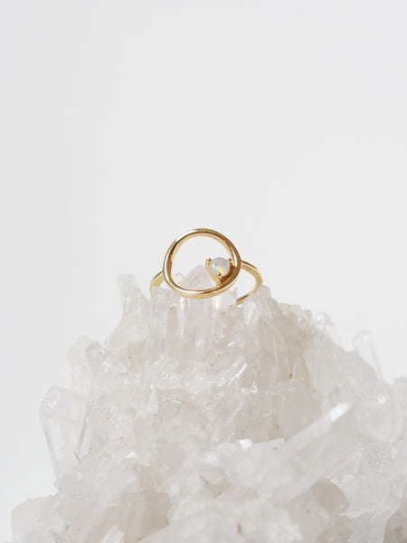 Bri Ring - Opal in Gold