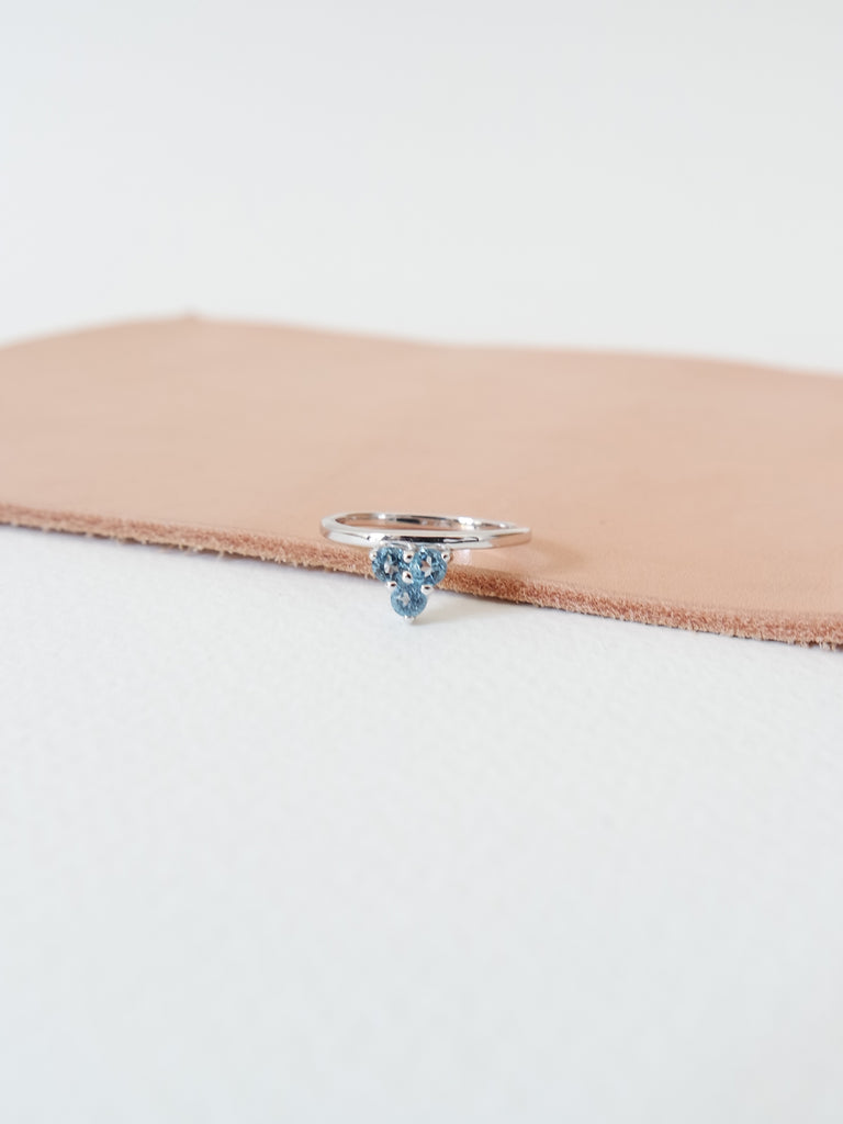 Cassie - Swiss Blue Topaz In Silver