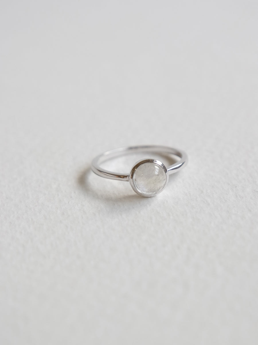 Dana Ring - Moonstone (Silver)
