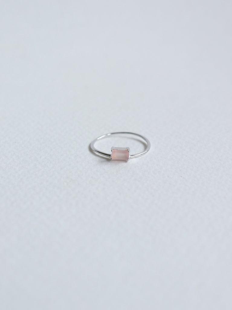 Erin - Pink Chalcedony  in Silver