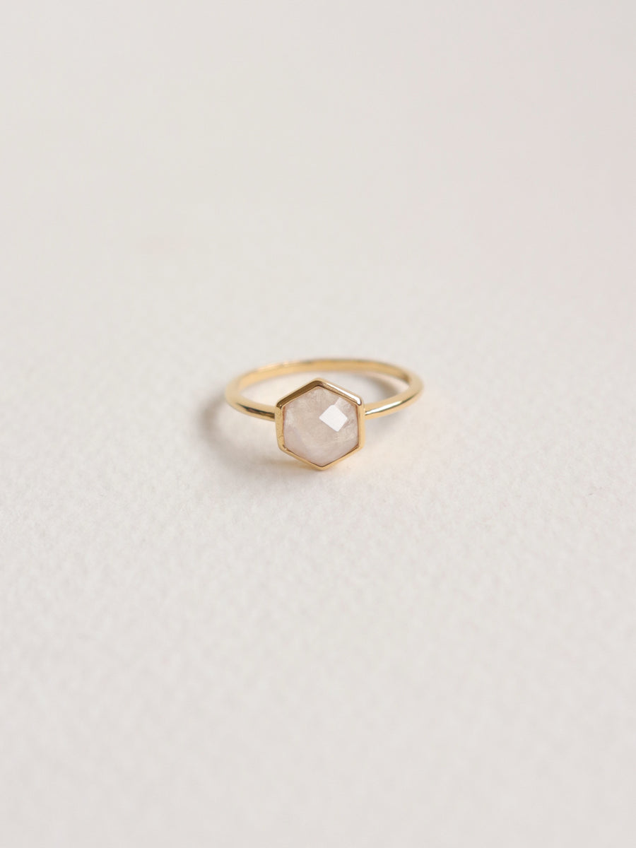 Fayth Ring - Moonstone (Gold)