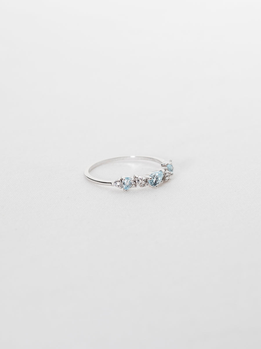 Hope Ring - Sky Blue Topaz (Silver)